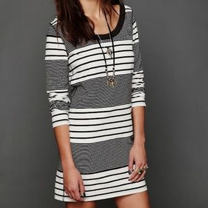 We the Free People Striped Shirt Dress Bodycon
